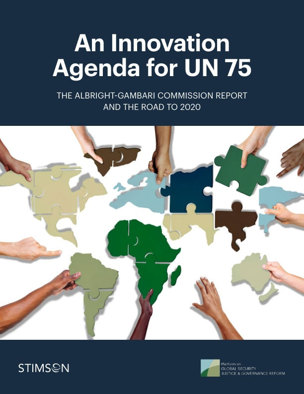 An Innovation Agenda for UN 75